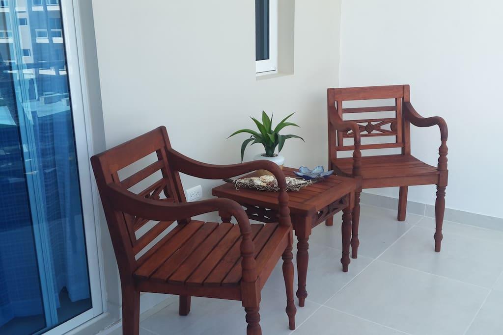 Balcony Area from Living Room