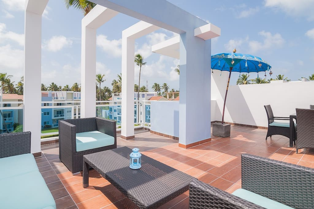 Stylish 2BR Penthouse Near the Ocean - Everything Punta Cana