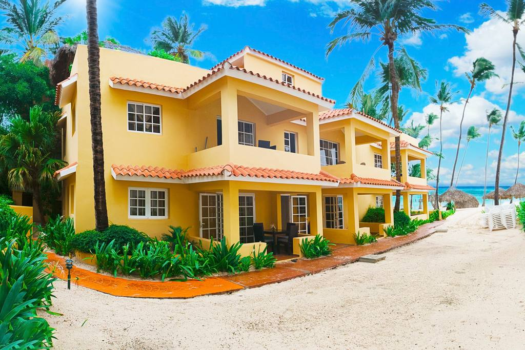 Welcome to Punta Cana Los Corales Beach! Private area, chaise-lounges and paradise views! Gated 2-bedroom condo with security 24/7!