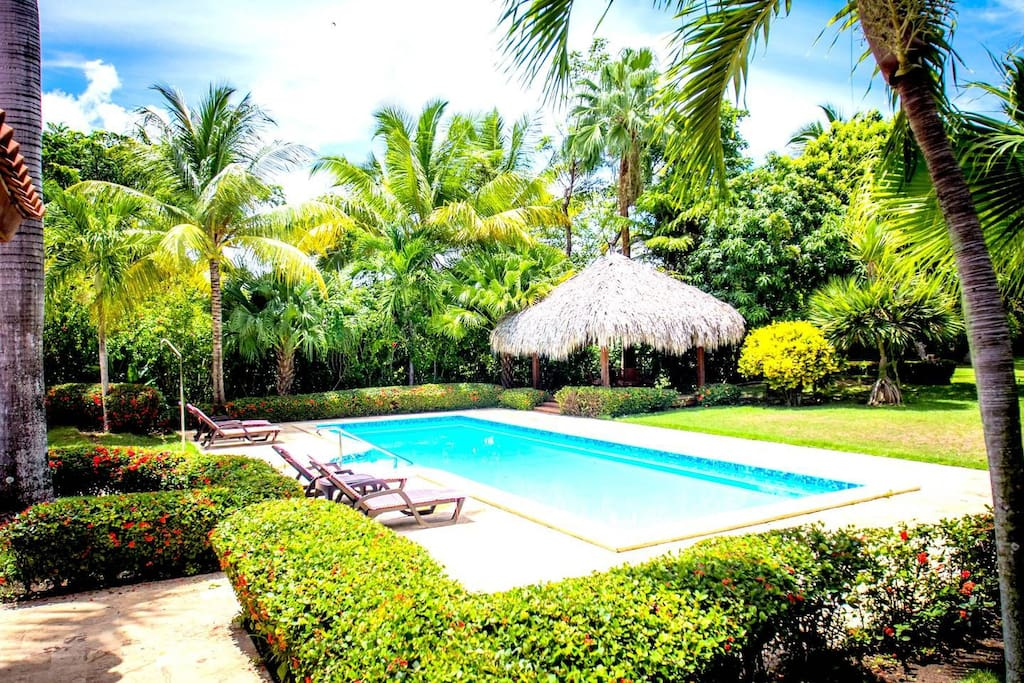 Luxury spacious Villa surrounded by greenery is a great place to stay and have amazing vacation experience.
