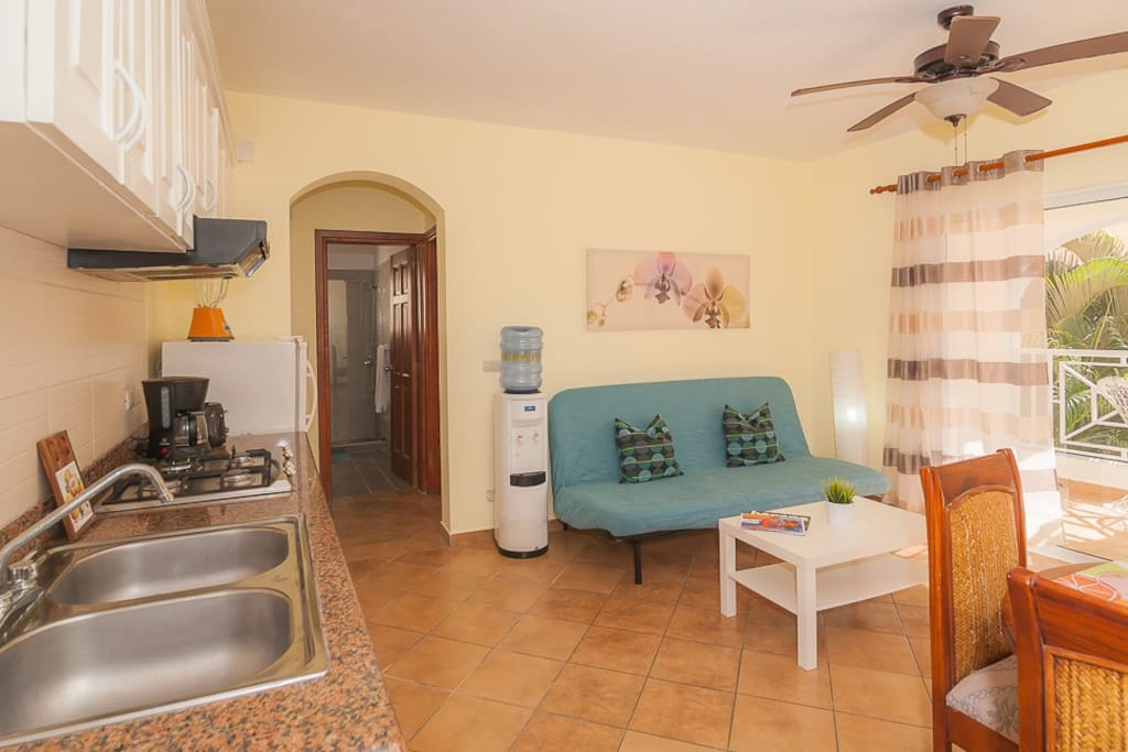 Simple 1BR Beach Sanctuary with Pool & Garden Views - Everything Punta Cana