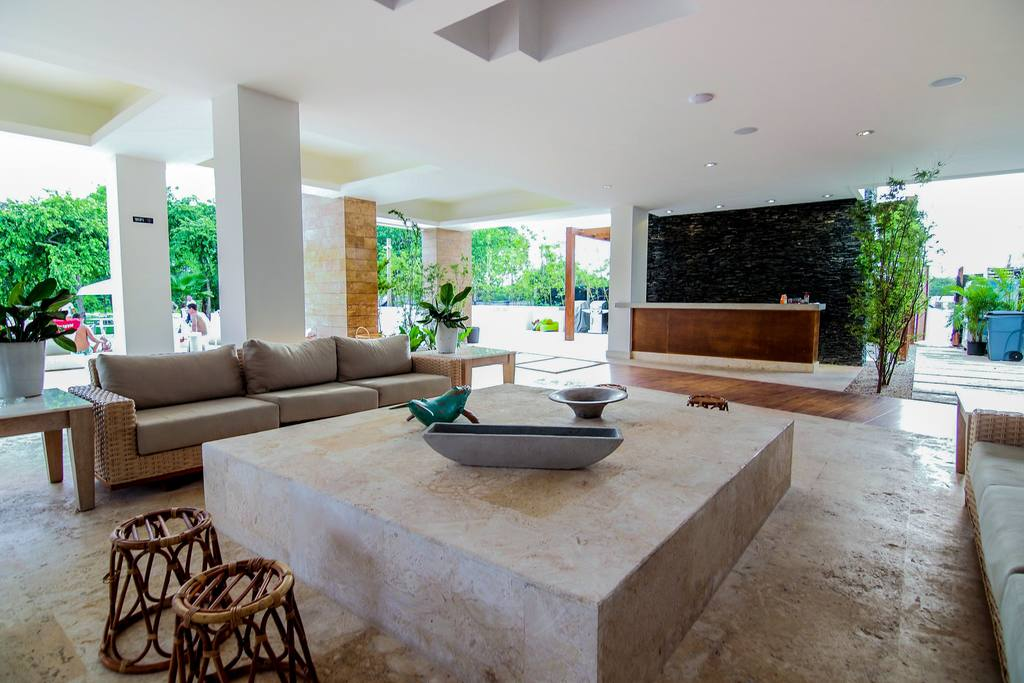 Comfortable outside space. Near to the pool and best golf fields