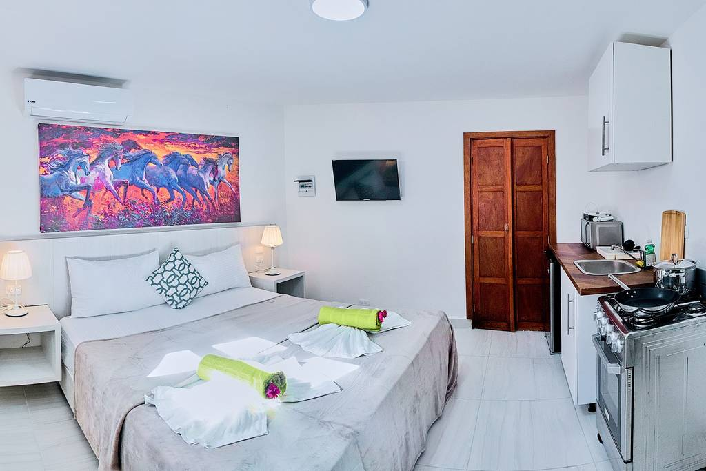 In this Studio you can find everything you need for a pleasant stay. Affordable and comfortable accommodation near the beach.
