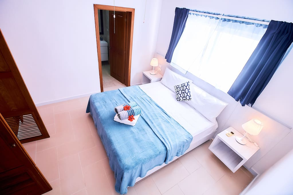 One of comfortable bedrooms