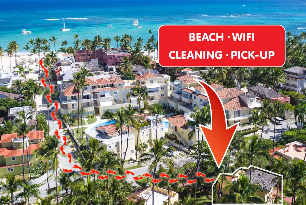 Deluxe Villa Palmbeach with BBQ & WiFi - Everything Punta Cana