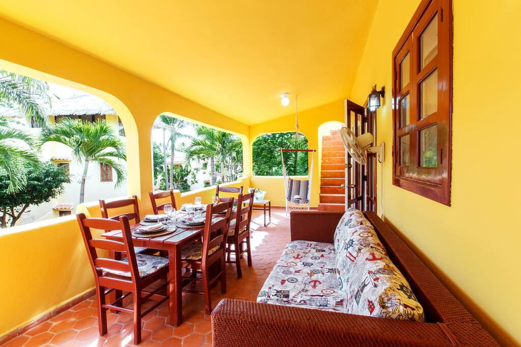 Beach Villa Cayena with Terrace on the Los Corales Beach - Everything Punta Cana