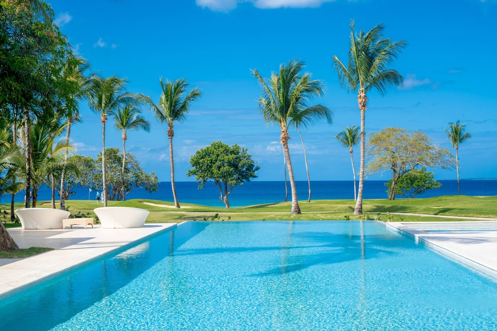 Ocean view villa for rent in Punta Cana – with staff & golf carts - Everything Punta Cana