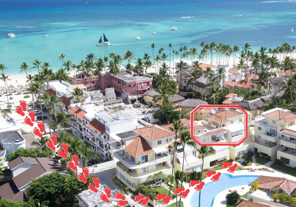 Deluxe Penthouse with Pool view & Terrace 3br - Everything Punta Cana
