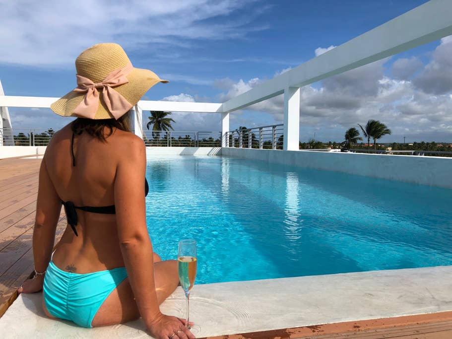 Deluxe Suite Rooftop Pool BeachClub for 4 people - Everything Punta Cana