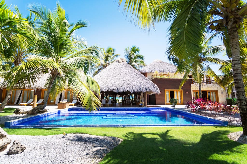 Enjoy clean and nice private swimming pool