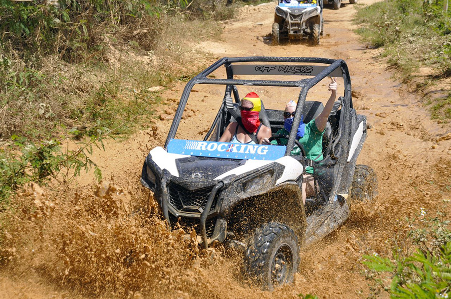 CAN-AM Maverick Hard Rock Off-Rider Adventure <i>in Punta Cana</i> - Everything Punta Cana