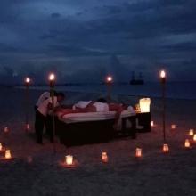 Massage Under the Moonlight