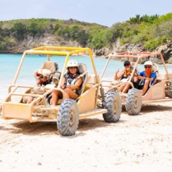 Enjoy driving experience to Macao Beach