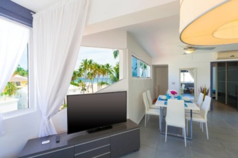 Private Ocean View Apartment for Rent in Punta Cana, the DR