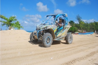 Can-Am Maverick Ride in Punta Cana