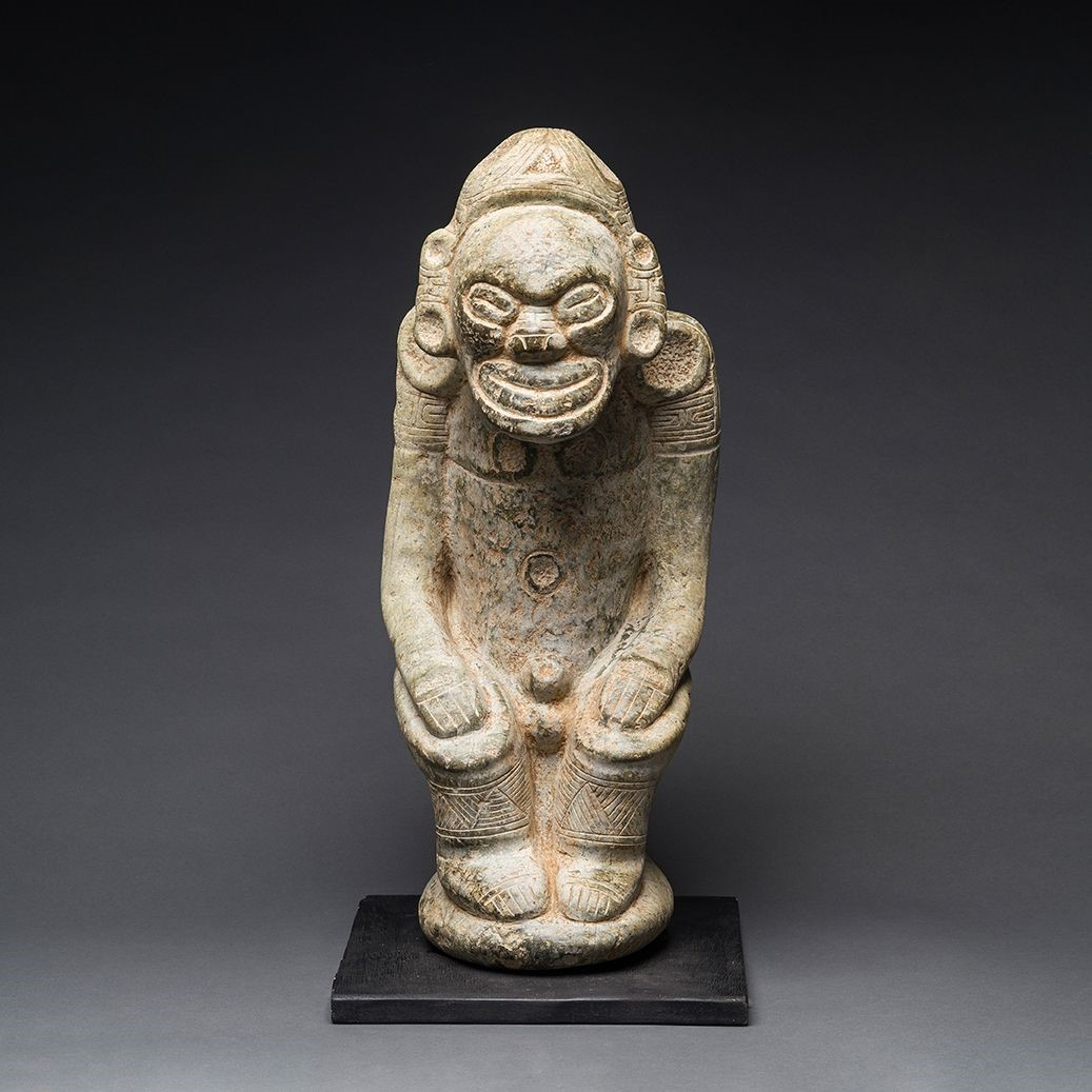 Dominican Tainos Statues