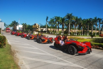 Extreme Slingshot Ride in Punta Cana