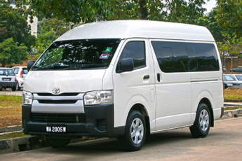 Passenger Car or Minibus Up to 4 People