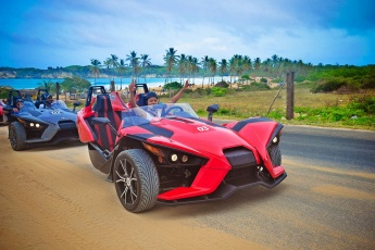 Extreme Slingshots Ride in Punta Cana