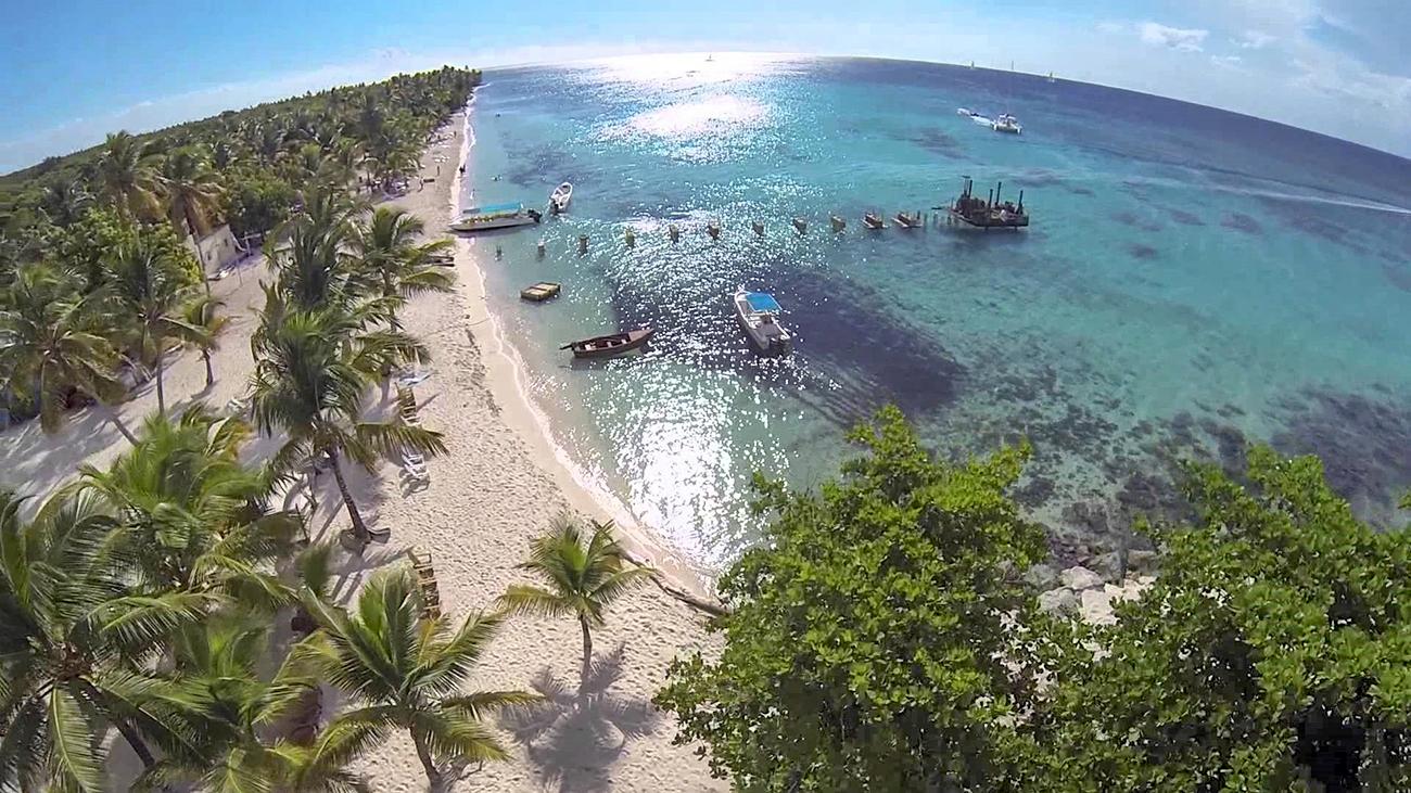 how to get to saona island