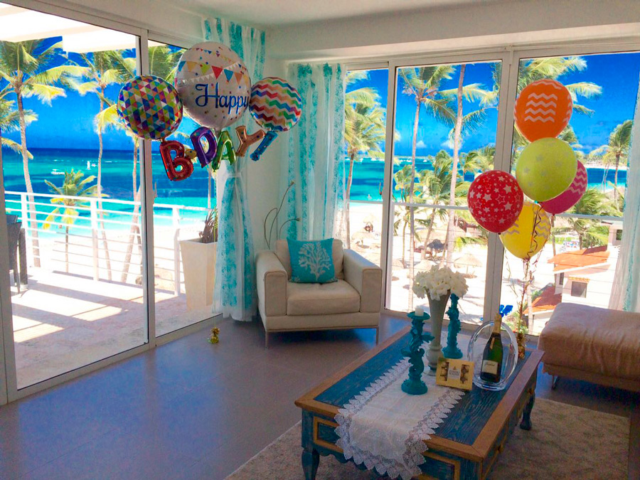 apartments decorated for special events