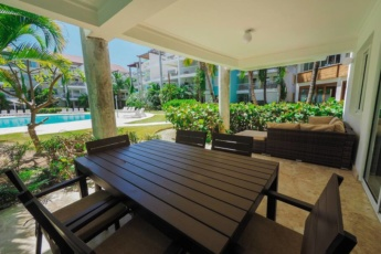 Swim-Up Luxury Beach House 2br in Bavaro