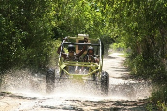 Buggy Tour & Zip Line at Bávaro Adventure Park, Punta Cana