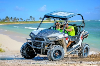 Polaris VIP Ride at Bávaro Adventure Park, Punta Cana