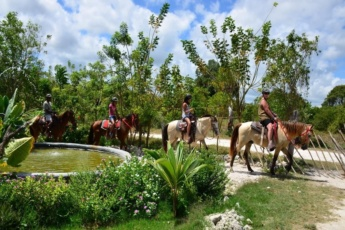 VIP Polaris Ride & Horseback Riding at Bávaro Adventure Park