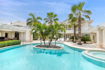 Villa Blanca for rent at Puntacana Resort & Club — chef, butler, maid, pool