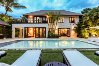 One of the best Punta Cana Resort and Club villas – 8400 sq. ft. villa built in 2 levels, up to 8 people
