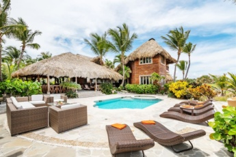 Spectacular 7.500 sq. ft. villa in Cap Cana for rent — Access to Eden Roc Beach Club, pool, chef, butler, maid