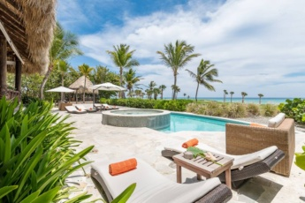 One of the best Caleton villas in Cap Cana – Ocean view villa for rent with chef, maid, butler & pool