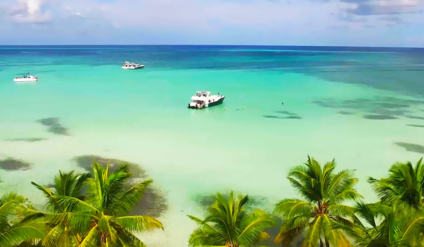 Saona Island, the Dominican Republic