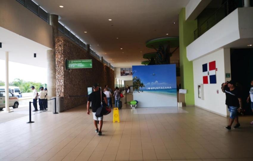 Passport control in Punta Cana Airport