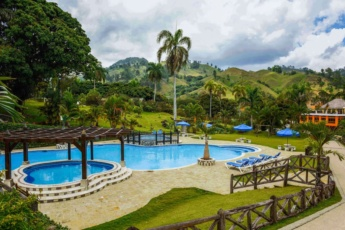 Cozy small apartment in the gated complex of Jarabacoa