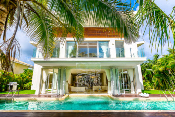 Luxury Villa Waterfall is one of the best Punta Cana villas with Chef & Maids that you can visit now