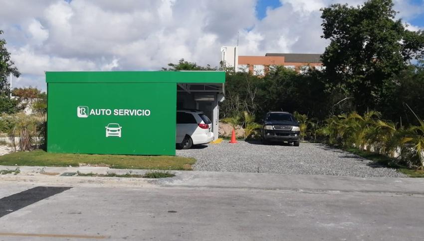 COVID-19 test at Auto Service