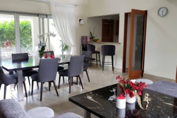 Comfortable family villa with 4 bedrooms, terrace and BBQ area – for rent in Punta Cana