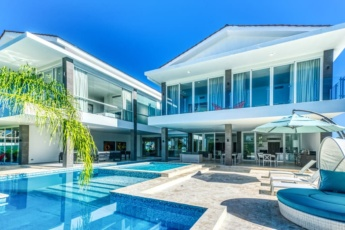 Cap Cana Villa for Rent — Modern, Fresh, and Fully-equipped Oceanfront Villa